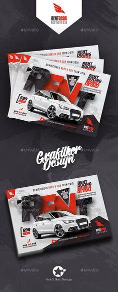Rent A Car Flyer Templates #automobile #sport car • Download ➝ https://graphicriver.net/item/rent-a-car-flyer-templates/21274364?ref=pxcr