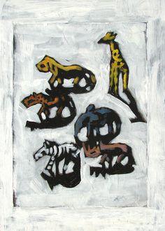 African Animals £12.00