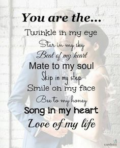 Whether you are looking to woo her or you are missing her, these cute love quotes for her are your best buddy. Check out & share these love quotes with her Cute Love Quotes, Love My Husband Quotes, Soulmate Love Quotes, Cute Couple Quotes, Love Quotes For Her, Inspirational Quotes About Love, Husband Love, Love Yourself Quotes, Love Of My Life