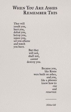 New Quotes Poetry Thoughts Nikita Gill 23 Ideas Poem Quotes, Words Quotes, Wise Words, Motivational Quotes, Life Quotes, Inspirational Quotes, Sayings, Qoutes, Living Quotes