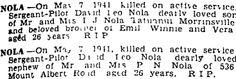Evening Star 20/05/1941 Family History, Death, Star, Stars, Genealogy