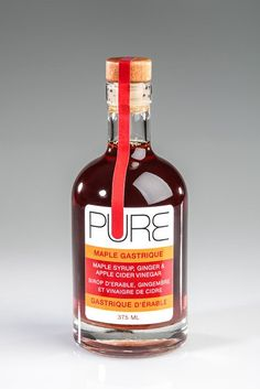 PURE Infused Maple Syrup - Maple Gastrique