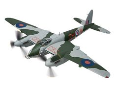 De Havilland Mosquito FBVI NS850 The Black Rufe 418 City of Edmonton Sqn RCAF (1944) Diecast Model Airplane by Corgi AA34605 This De Havilland Mosquito FBVI NS850 The Black Rufe 418 City of Edmonton Sqn RCAF (1944) Diecast Model Airplane features working control surfaces, propellers. It is made by Corgi and is 1:32 scale (approx. 52cm / 20.5in wingspan). One of the most potent versions of the famous De Havilland Mosquito the FBVI matched the high speed bombing capability of the early…