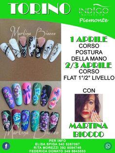 1/2/3 APRILE MARTINA BIOCCO a Torino #martinabiocco #corso #posturadellamano #flat #torino #nailartist #indigonailspiemonte #indigonailslab #indigonails