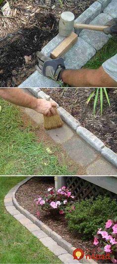 Prinášame vám krásne nápady od šikovných ľudí, ktorí vám ukážu, ako veľmi dokáže aj malá úprava v tomto priestore zmeniť celkovú podobu vašej záhrady.