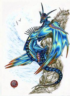 Briny King Dragon by Raven8dragon