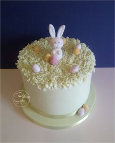 Easter Bunny - Cake by CakeyCake