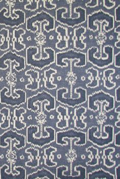 Bengali - Indian Blue textile from Lacefield Designs www.lacefielddesigns.com #indigo