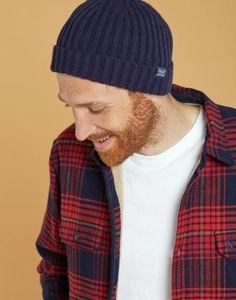 5046d45d Joules Bamburgh Mens Beanie Hat - Men's Cold Weather Accessories Mens  Beanie Hats, Mens Jumpers