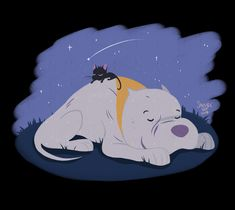 """""""I adoooored this short, absolutely gorgeous, a touching story and some of my favourite cat animation I've seen gkjfd I had to draw a wee something for it :^) Cute Sketches, Cute Drawings, Pitbull Drawing, Cartoon Movie Characters, Non Disney Princesses, Disney Shorts, Gouache Painting, 3d Animation, Creature Design"""