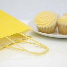 Italian Yellow Twist Bags - from 12p per bag
