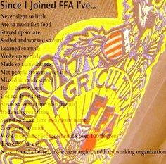 Love FFA! Country Strong, Country Quotes, Future Career, Ffa, Good Ole, Future Classroom, Way Of Life, Country Girls, That Way