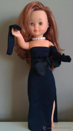 Nancy Doll, Cute Embroidery, Doll Clothes, Strapless Dress, Dolls, Exterior, Dresses, Fashion, Templates