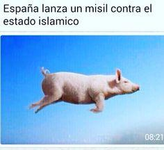 España lanza un misil contra el Estado Islámico