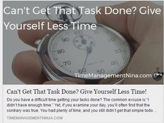 Can Less Time Can Be More Productive? - Organizing Resolutions with Starks · Professional Home/Business Organizers