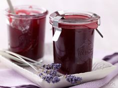 Pomegranate Jelly – with lavender flowers – smarter – Calories: 21 Kcal – Time: 20 … – number Marmalade Jam, Marmalade Recipe, Chutneys, Granada, Pomegranate Jelly, Jam And Jelly, Vegetable Drinks, Slow Food, Great Desserts