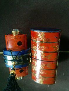 Opium Perfume Full 1/4 oz Vintage Yves Saint Laurent