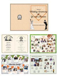結婚式ペーパーアイテム -プロフィールブック- wedding paper item -profile book- オーダーメイド/オリジナル