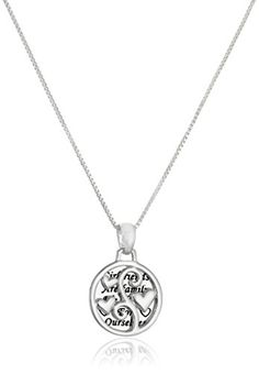 Sterling Silver Girlfriends TwoPiece Pendant Necklace 18 * Be sure to check out this awesome product. (This is an affiliate link and I receive a commission for the sales)