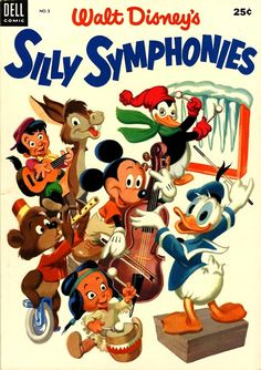 Silly Symphonies. Why does everyone's look scared?