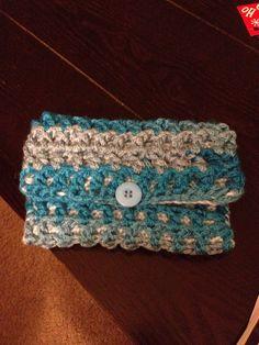 Crocheted clutch/purse!