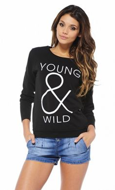 Young & Wild Sweatshirt
