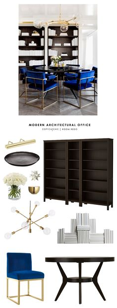 Copy Cat Chic Room Redo | Modern Architectural Office | Copy Cat Chic | Bloglovin'