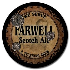 The Farwell Scotch Ale design