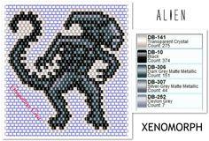 #brickstitch #alien #xenomorph