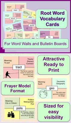 Attractive pastel colored 8 1/2 x 11 vocabulary cards for word walls or bulletin boards. Great visual reference for teaching students how to make their own vocabulary cards.  $