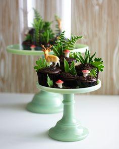Edible Cupcake Terrarium Cakegirls
