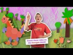 The HEXAGON Song! (HeidiSongs Jumpin' Numbers & Shakin' Shapes) - YouTube