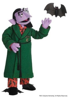 The Count in his jammies!