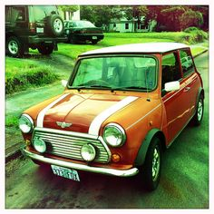 Mini Cooper - except for the plasticky fenders, this guy looks great!