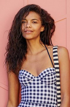 a98806f8b5b Audrey Lightly Lined One-Piece Swimsuit by American Eagle Outfitters