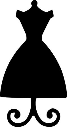 dress form yes! dress form yes! Silhouette Cameo, Machine Silhouette Portrait, Woman Silhouette, Silhouette Files, Dress Silhouette, Dress Card, Diy Dress, Dress Form Mannequin, Scan And Cut