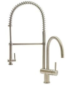 Vigo VGO2006ST Commercial-Style Stainless Steel Single Lever Faucet with solid brass construction; $519.99 at Overstock. http://vigoatoverstock.jpg