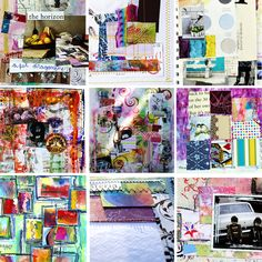 Art Journaling in Three Phases