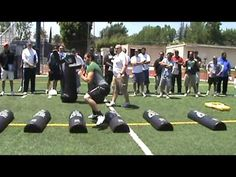 ▶ Notre Dame O Line Drills Part 1 - YouTube