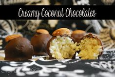 Creamy Coconut Chocolate