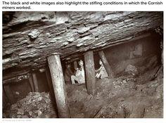 Underground photography by J.C.Burrow, Cornwall.
