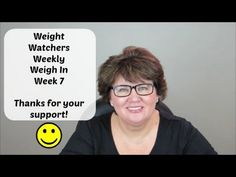 Weight Watchers Weekly Weigh In Week 7 | Thanks for your support!