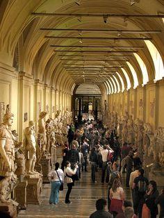 Salón de las Estatuas, Museo del Vaticano, Ciudad del Vaticano.