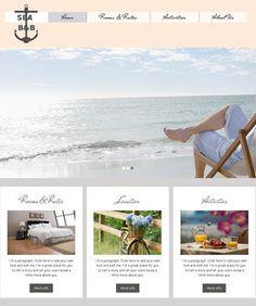 Free Website Templates, page 26 Free Website Templates, Seaside, Plants, Beach, Coast