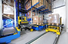 A simple concept to develop a semi-automated warehouse.