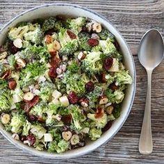 MARENGS MED MØRK SJOKOLADE OG MANDLER | TRINES MATBLOGG Frisk, Sashimi, Wok, Cobb Salad, Sprouts, Potato Salad, Grilling, Food And Drink, Vegetables