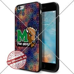 WADE CASE Marshall Thundering Herd Logo NCAA Cool Apple iPhone6 6S Case #1278 Black Smartphone Case Cover Collector TPU Rubber [Circle] WADE CASE http://www.amazon.com/dp/B017J7S4GS/ref=cm_sw_r_pi_dp_lxrexb0V95EZF