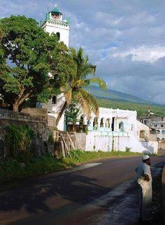 * Moroni * Capital das Ilhas União das Comores. Oceano Índico.