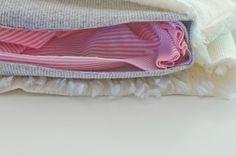 DIY Pucksack als Geschenk zur Geburt
