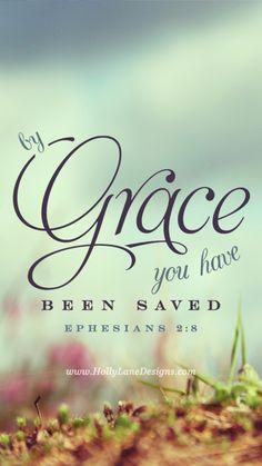 Door uw geloof in Hem bent u gered en dat komt door zijn genade. Dat is niet uw eigen verdienste, maar een geschenk van God. (Efeziërs 2:8 HTB)